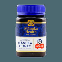 纽西兰MANUKA HEALTH 纯正天然养胃麦卢卡蜂蜜 UMF 6+ MGO 115+ 500g 送礼首选