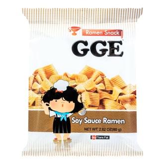 WEILIH GOOD GOOD EAT  Soy Sauce Ramen Wheat Cracker 80g
