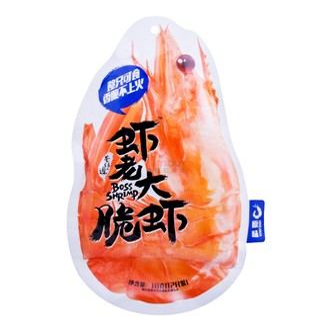 台湾巷仔边 虾老大脆虾 经典原味 18g 12只装
