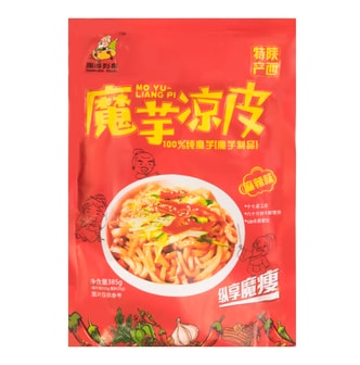 ZHOUYOULIEGUO Konjak Cold Noodle Spicy Flavor 385g