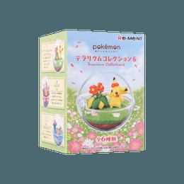 "Pokemon Blind Box Plastic Miniature ""P Terrarium Collection 6, 1pc, Total 6 Patterns, Patterns Ship Randomly"