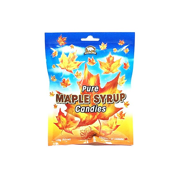 CANADA TRUE Pure Maple Syrup Candies 120g