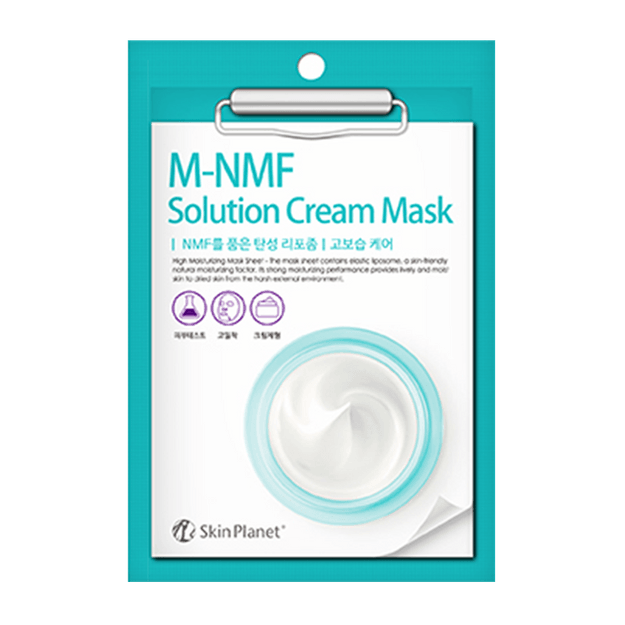 Product Detail - SKIN PLANET M-NMF Solution Cream Mask 1Sheet - image 0