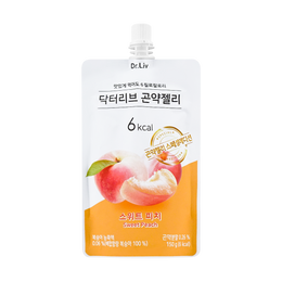 Konjac Jelly Sweet Peach 150g