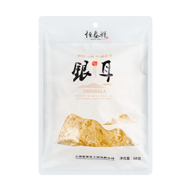 Product Detail - HENGTAIXIANG White Fungus 68g - image 0