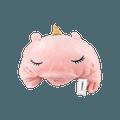名创优品Miniso 独角兽带帽休闲毯 粉色