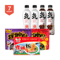 Genki Forest Soda Water 4 pack X  LIUQUAN Instant Spicy Rice Noodle  3 pack