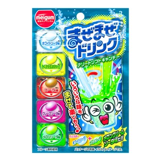 日本MEIGUM明治 混合饮料味糖果 25g