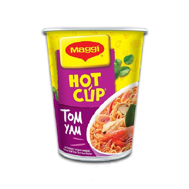 Product Detail - MAGGI HOT CUP Instant Noodle Cup Tom Yam Flavour 61g - image 0