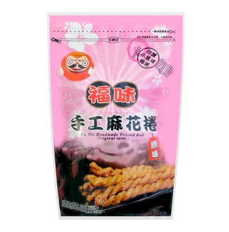 LIOUCIOU FU WEI Handmade Twisted Roll Original 200g
