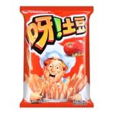 韩国ORION好丽友 呀!土豆薯条膨化食品 番茄酱味 40g