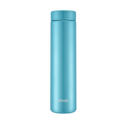 TIGER Stainless Steel Vacuum Insulated Thermal Bottle Mug #Aqua Blue 500ml MMZ-A501