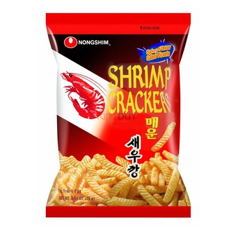 韩国NONGSHIM农心 经典辣味香脆美味虾条 75g