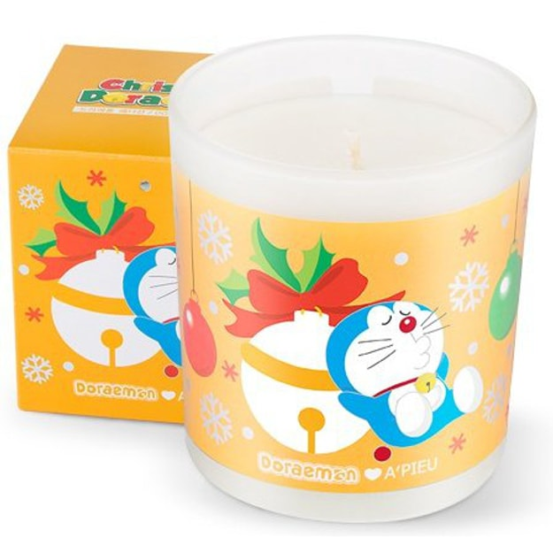 Product Detail - APIEU Doraemon Perfumed Candle Merry Limited Edition Hyacinth & Orchid 1pcs - image  0