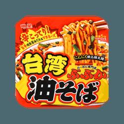 明星 台湾油拌蒜味辣面 160g