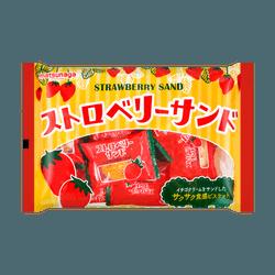 日本MATSUNAGA 夹心曲奇 草莓味 169g