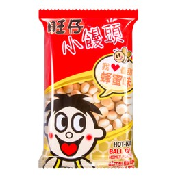 WANT WANT Hot-Kid Cookie Ball Honey Flavour 210g