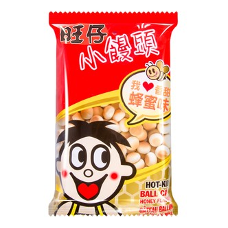 台湾旺旺 旺仔小馒头 蜂蜜味 袋装 210g