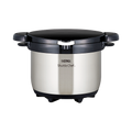 THERMOS 膳魔师||真空保温烹调器焖烧锅KBG-3000-CS||透明不锈钢 3L