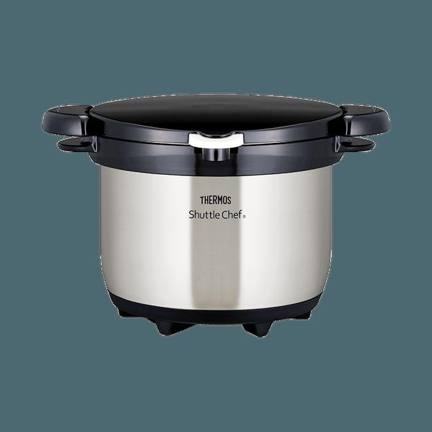 商品详情 - THERMOS 膳魔师||真空保温烹调器焖烧锅KBG-3000-CS||透明不锈钢 3L - image  0