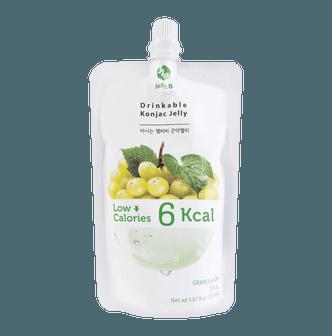 韩国JELLY.B 低糖低卡蒟蒻果冻 葡萄味 150ml