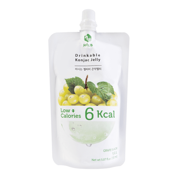 Product Detail - Jelly B. Konjac Drink Grape Flavor Low Calories Drink 150ml - image 0
