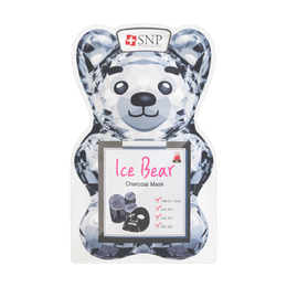 Korea SNP Ice Bear Charcoal Mask 1sheet