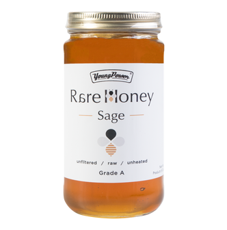 美国YOUNG POWER Sage 100%纯鼠尾草蜂蜜 454g