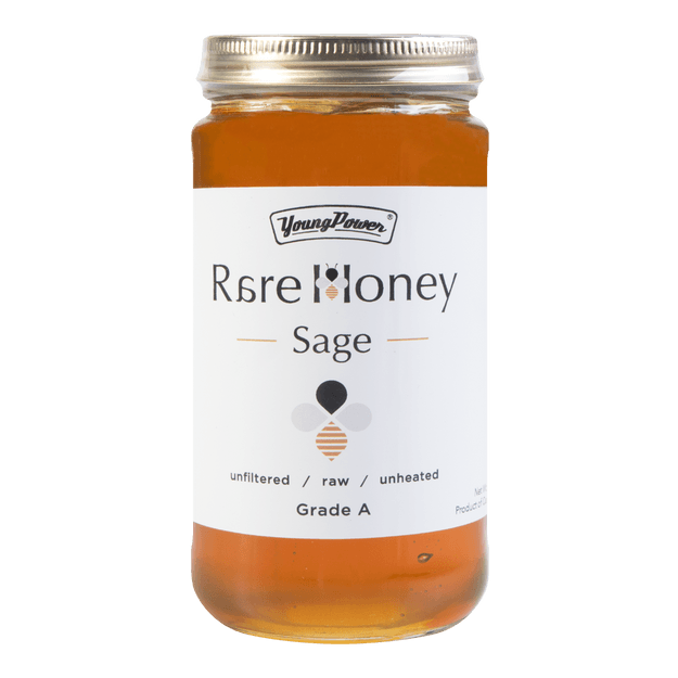 YOUNG POWER Sage 100% Rare Honey 454g
