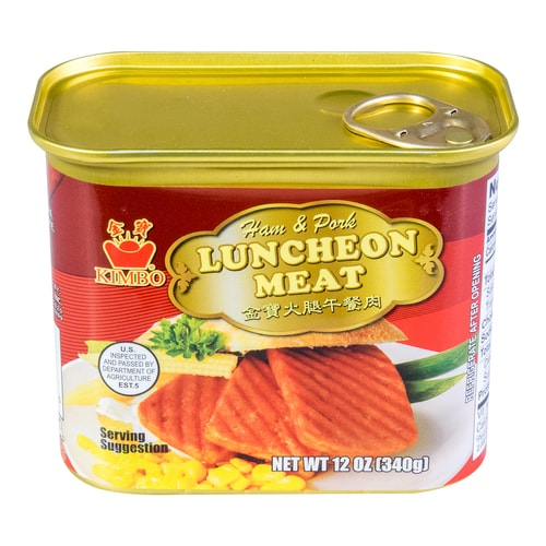 KIMBO Ham and Pork Luncheon Meat 340g USDA Certified