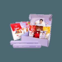 【有海报的!】【送签名海报2份 卡片3张】欧扎克麦片 肖战限量礼盒 (400gx3 + 70gx3) 即食早餐酸奶燕麦片组合包