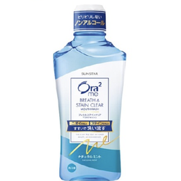 Stain Clear Mouse Wash Oral Care 460ml #Natural Mint