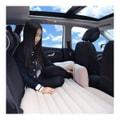 LORDUPHOLD 汽车车床 充气床垫 车载充气床垫 汽车植绒充气床 汽车车载气垫床 米色一套
