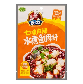 QINGLIN Spicy Boiled Fish Sauce 238g