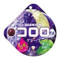 【日本直邮】UHA 悠哈味觉糖 全天然果汁软糖 紫葡萄味  48g