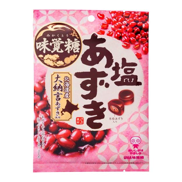 商品详情 - DHL直发【日本直邮】日本悠哈UHA味觉糖  北海道大纳言红豆糖 109g - image  0