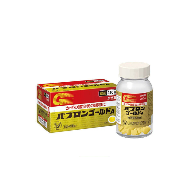 Product Detail - TAISHO PHARMACEUTICAL Pabron Gold A 210pcs - image 0