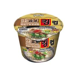 韩国PALDO八道 名家牛骨汤面 碗装 105g