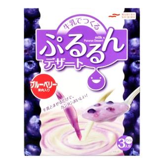 MARUHA NICHIRO Pururun Dessert Bluberry 150g
