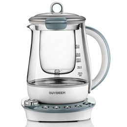 BUYDEEM K2683 Health-Care Beverage Maker Tea Maker 1.5 L Light Blue
