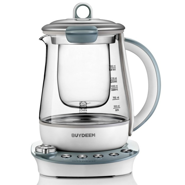 Product Detail - BUYDEEM K2683 Health-Care Beverage Maker Tea Maker 1.5 L Light Blue - image 0
