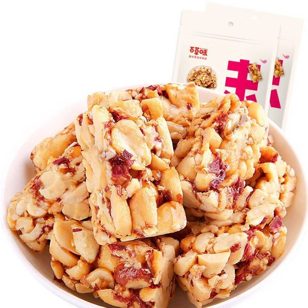 Product Detail - BE&CHEERY   ROSE PETALS PEANUTS DESSERT  180G - image 0