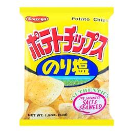 日本KOIKEYA湖池屋 薯片 海苔盐口味 54g
