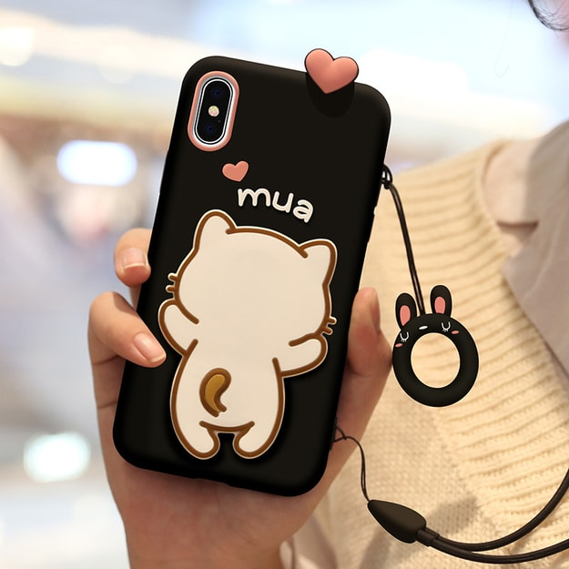Product Detail - YINGNI Super Cute Iphone X/XS Case Black - image 0