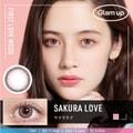 华晨宇同款 Glam up -5.00度日抛彩色美瞳 Sakura love 初恋粉 10片 预定3-5天日本直发