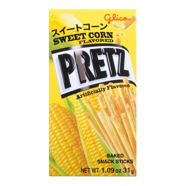 Product Detail - GLICO PRETZ  Sweet Corn Flavored Sticks 31g - image 0