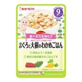 日本KEWPIE丘比 宝宝辅食 金枪鱼蔬菜袋装烩饭泥 80g 9M+