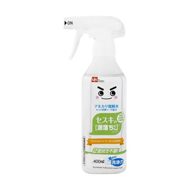 LEC All-Purpose Stain Removal Antibacterial Deodorant Cleaner Spray Bottle 400ml