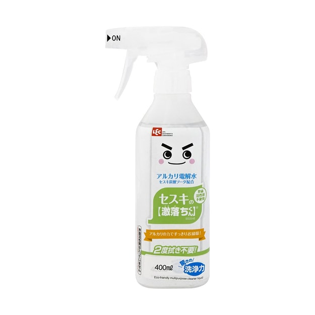 Product Detail - LEC All-Purpose Stain Removal Antibacterial Deodorant Cleaner Spray Bottle 400ml - image 0