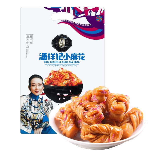 Product Detail - PANXIANGJI Mini Dough Twist Rose Flavor 450g - image 0